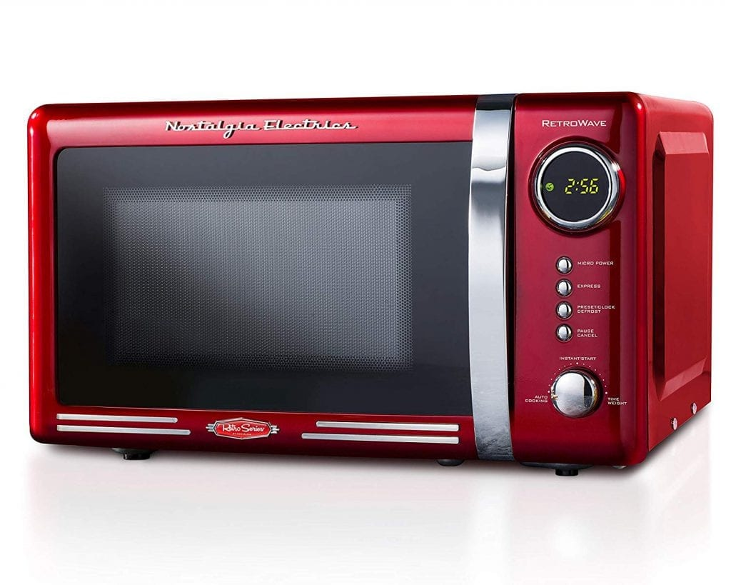 Nostalgia RMO770RED Retro 700-Watt Countertop Microwave review image