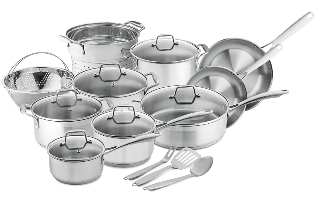 Chef's Star Professional Grade Stainless Steel Cookware, 17-Piece Set Review