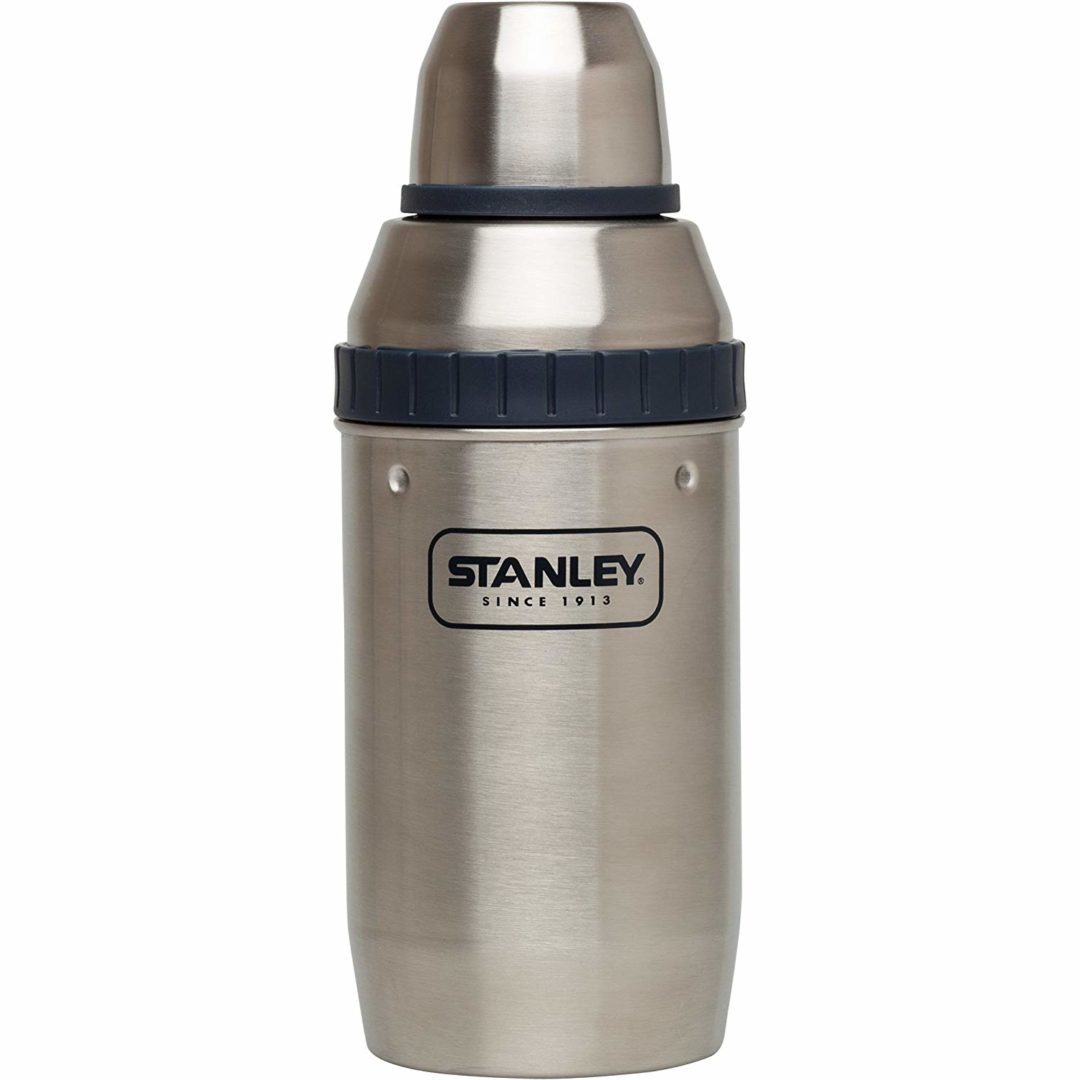 The Stanley Adventure Happy Hour Shaker and Four cups