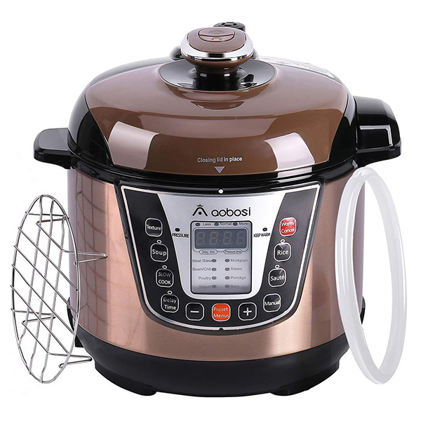 Aobosi 8in1 Pressure Electric Multi Cooker