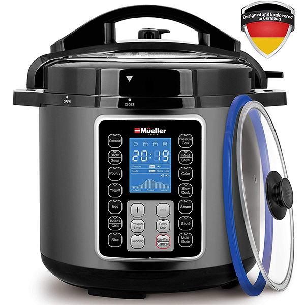 Mueller 10-in1 Pro Series Multi Cooker