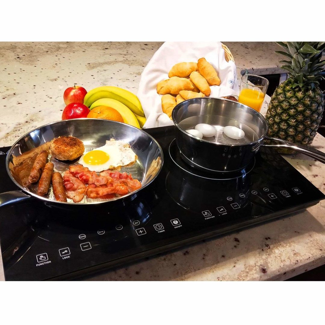 Evergreen Home 1800W Double Digital Induction Cooktop Review