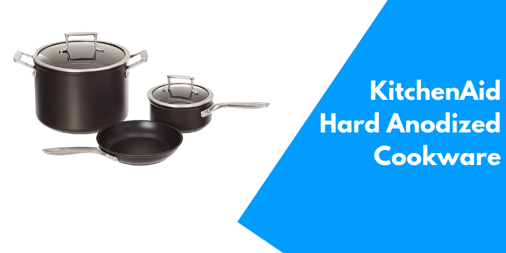 KitchenAid KCH235ELKM Professional Hard Anodized Non-stick cookware set