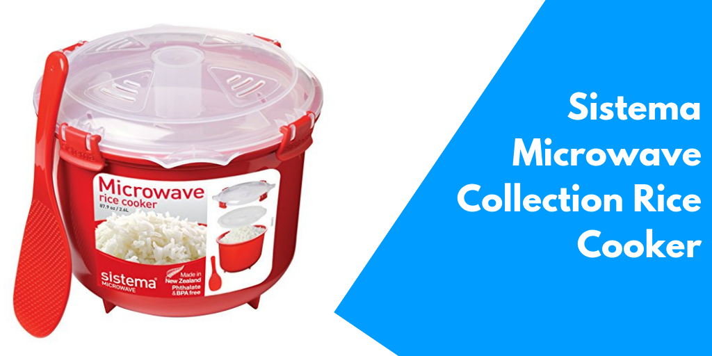 The Sistema Microwave Collection Rice Cooker