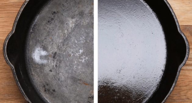 Clean and Season a Cast Iron Skillet